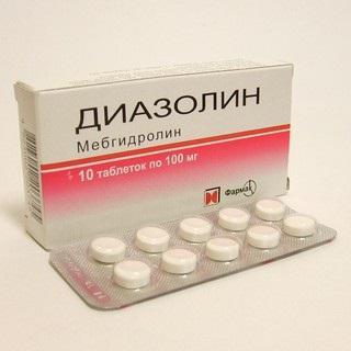 dojenje diazolinom