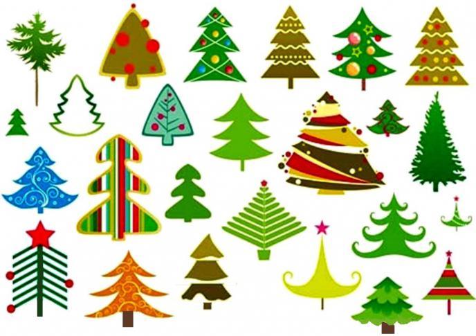 come disegnare un albero di Natale