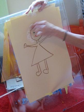 jak kreslit máma