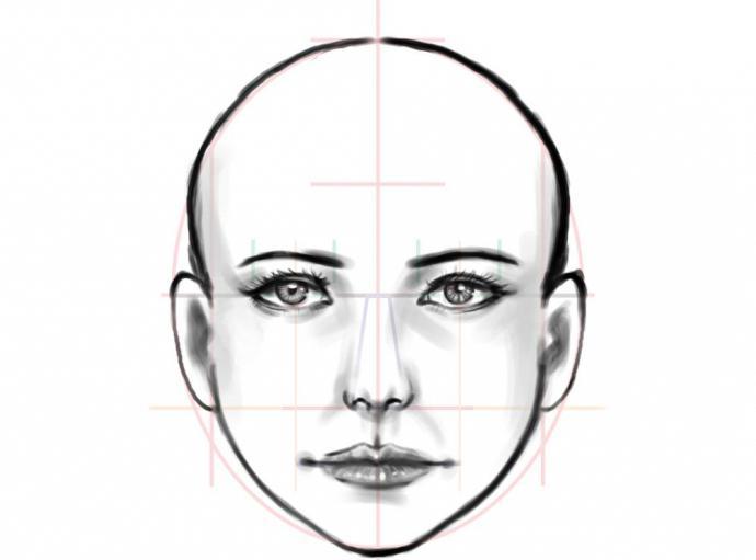 come disegnare il naso di un uomo