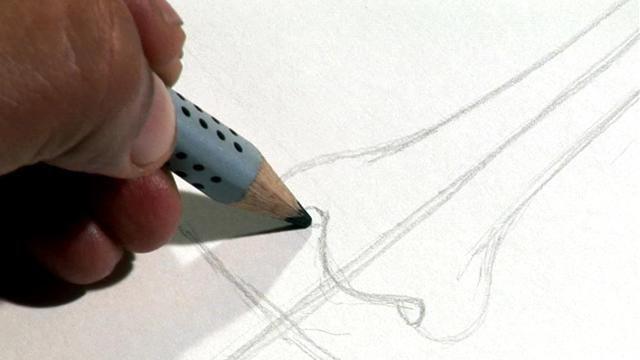 come disegnare un naso con una matita