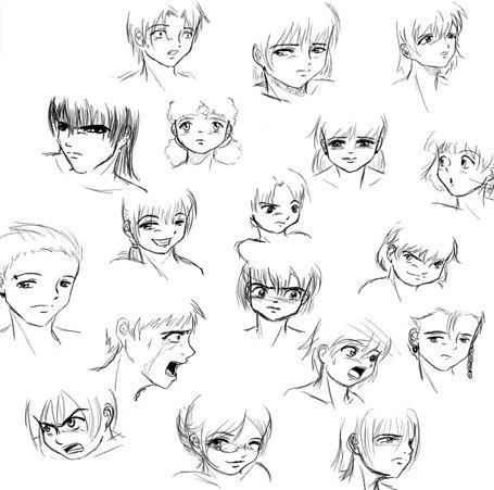 come disegnare il naso dell'anime