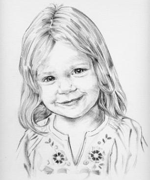 come disegnare un ritratto con una matita