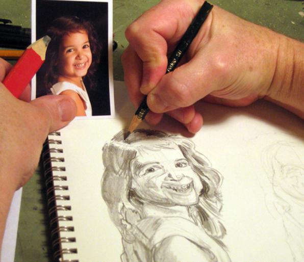 come imparare a dipingere ritratti