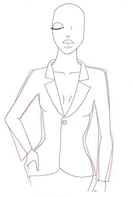 come disegnare i vestiti con una matita