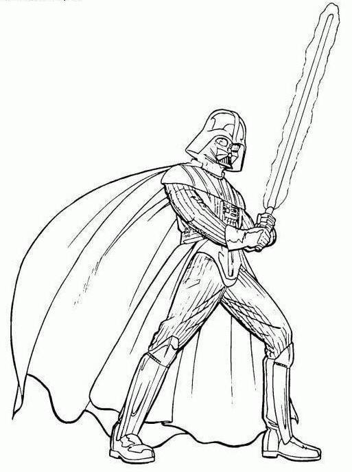come disegnare Darth Vader a matita in fasi per principianti