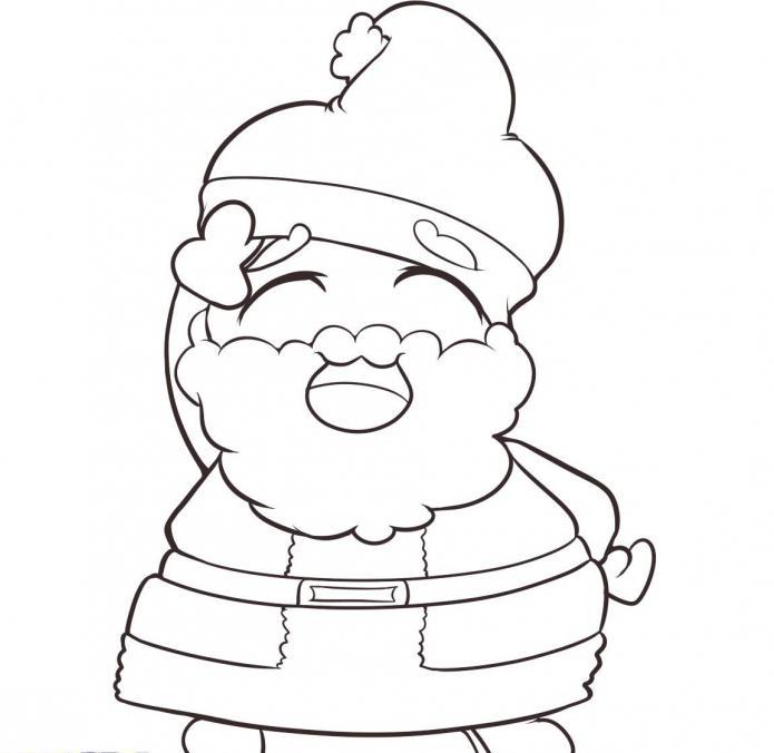 come disegnare Babbo Natale