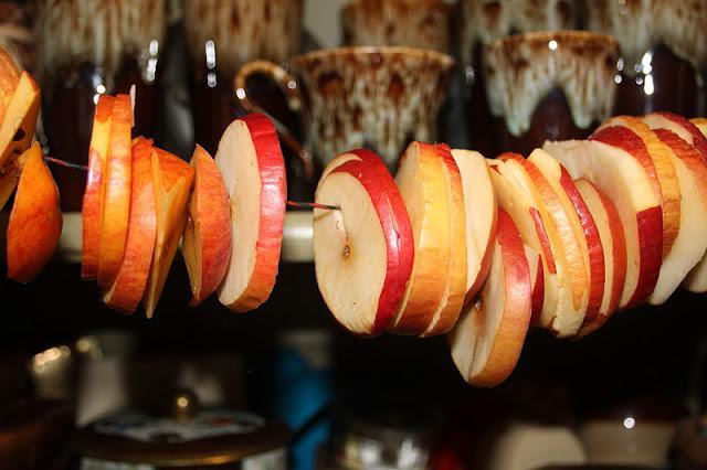come fare asciugare le mele