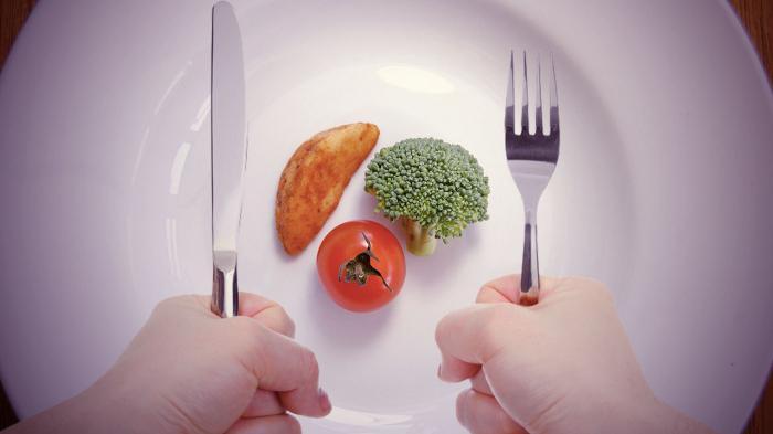 Trebate jesti manje