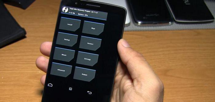 Възстановяване на менюто на android не се отваря