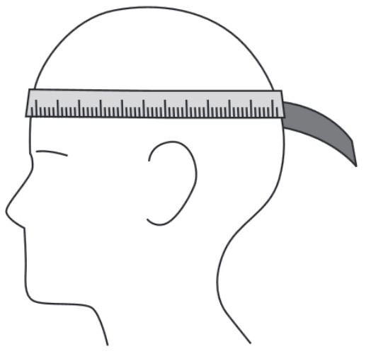 circonferenza della testa