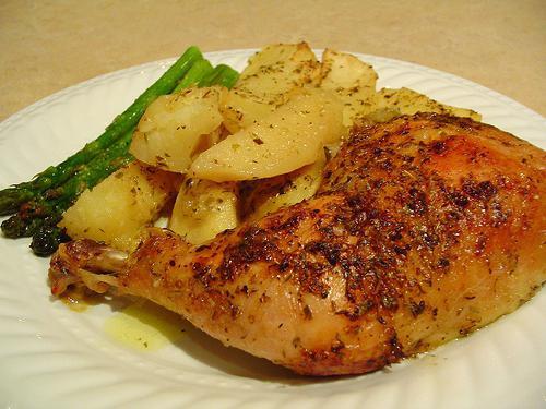 ricetta di cosce di pollo alla griglia