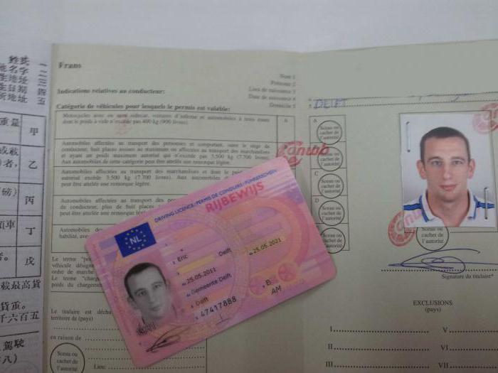 patente di guida internazionale