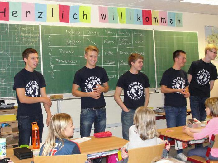 Scuole tedesche in Germania