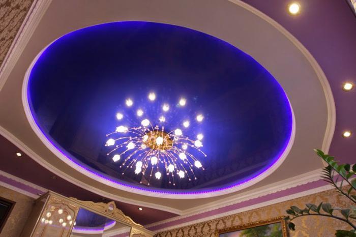 как да окачите полилей на таван