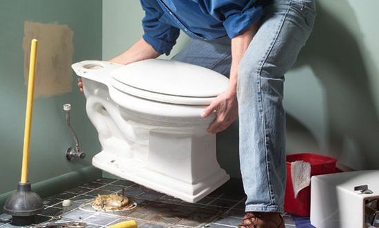 jak nainstalovat WC na dlaždici