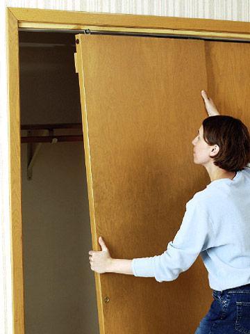 come installare una porta scorrevole
