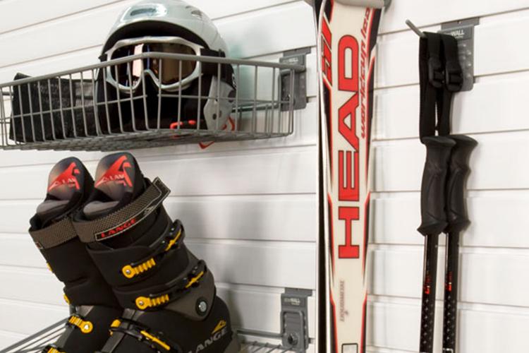 Come installare il supporto sugli sci?