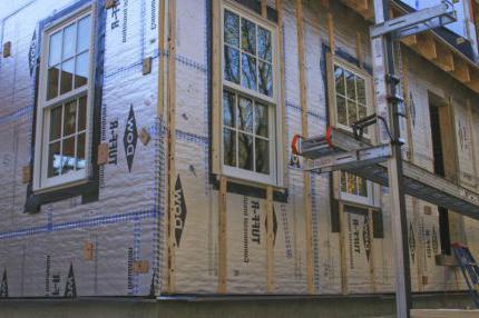 kako izolirati drvenu kuću izvana
