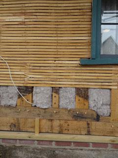 Izolacija drvene kuće izvan pjene