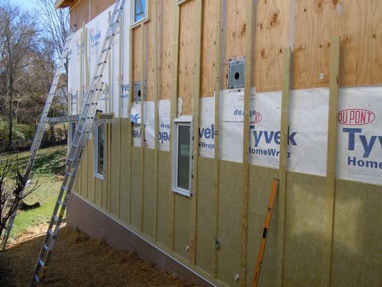 tehnologija izolacije drvene kuće vani