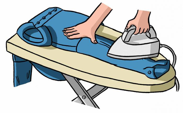 come stirare le maniche della camicia