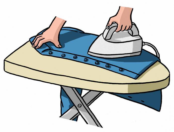 come stirare una camicia di cotone