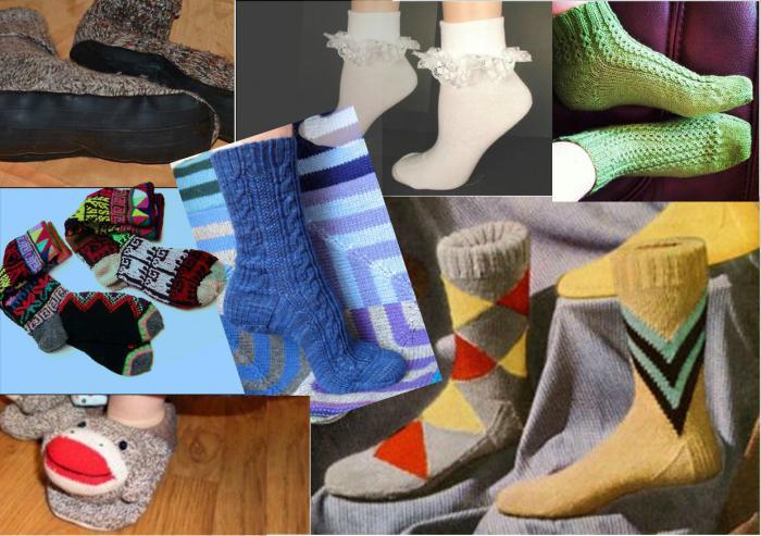 come lavorare a maglia i calzini