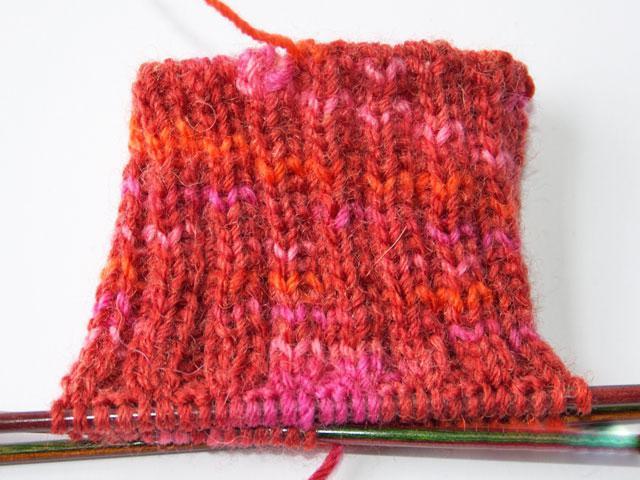 calzini per maglieria a maglia