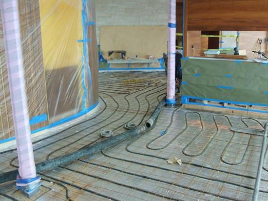 как да се подложат подове на бетонен под