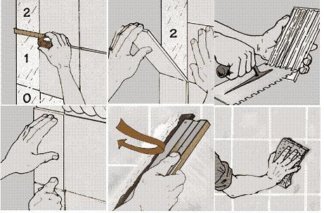 kako položiti ploščice