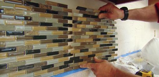 kako položiti mozaik ploščic