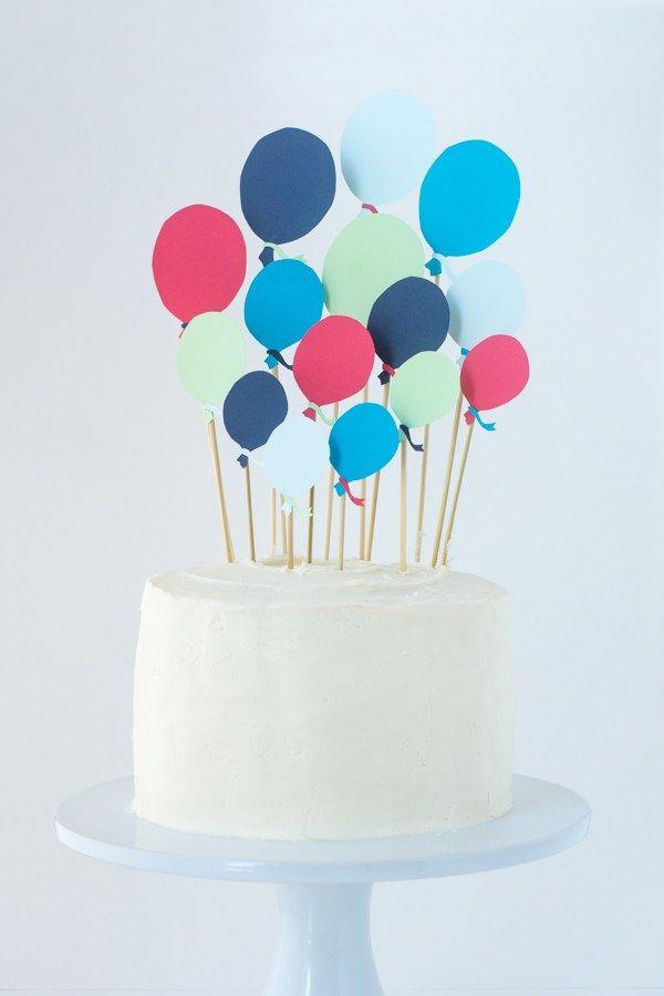 grande torta di compleanno