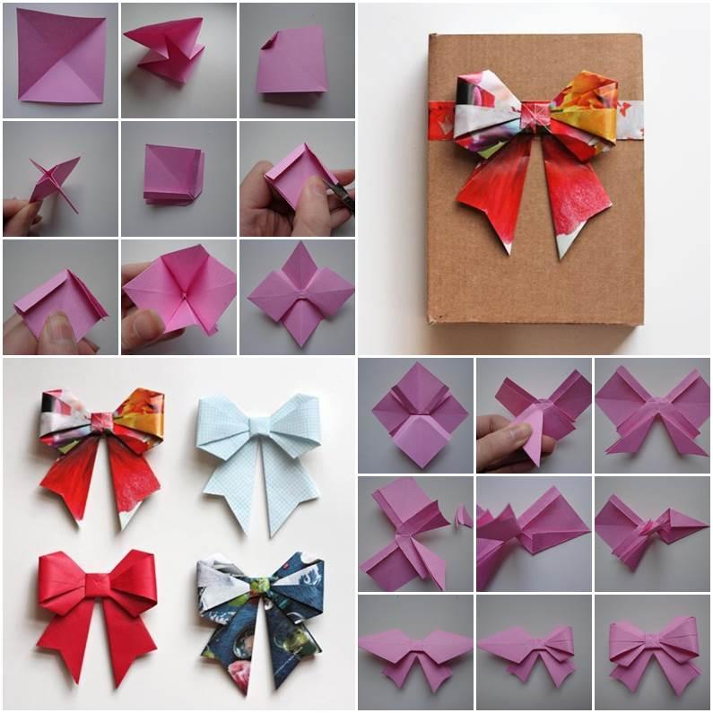 Fare arco di origami