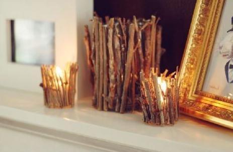 svícny z plechovek s vlastními rukama