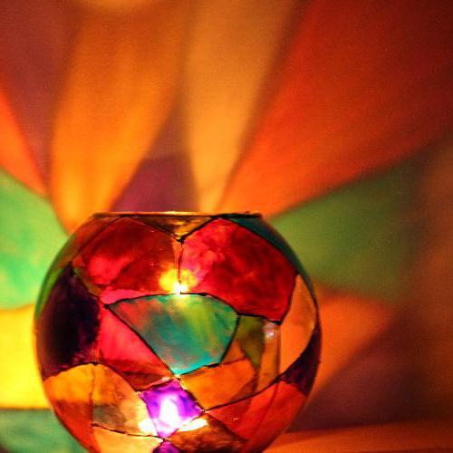 svícny s vlastními rukama