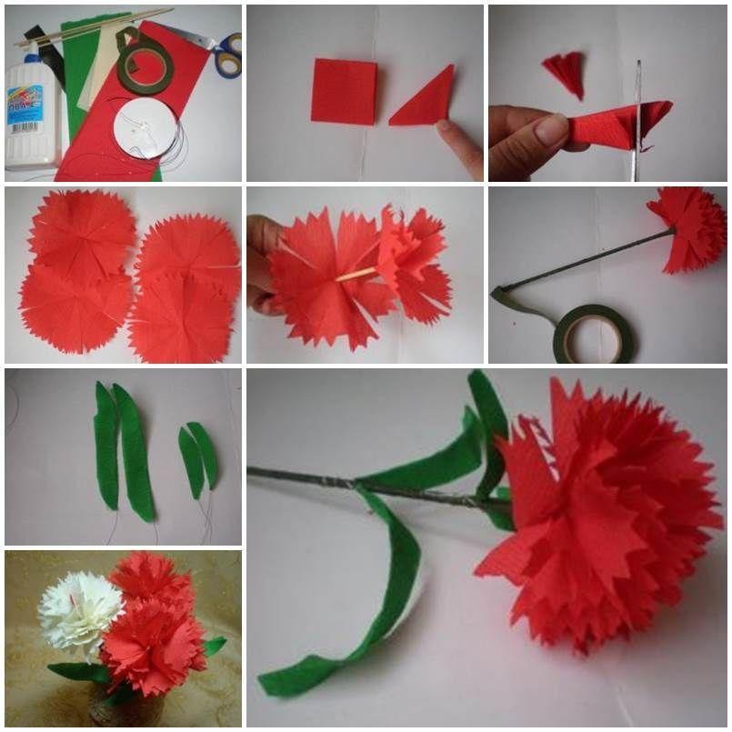 ustvariti cvet po shemi