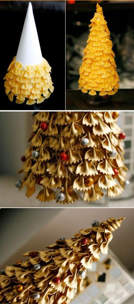 как да направим дърво от паста