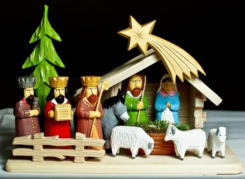 Сцена на Рождество Христово
