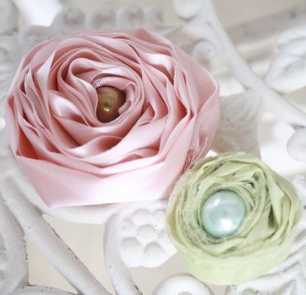 како направити цвијеће од тканине