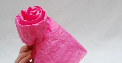 прављење цвећа од тканине