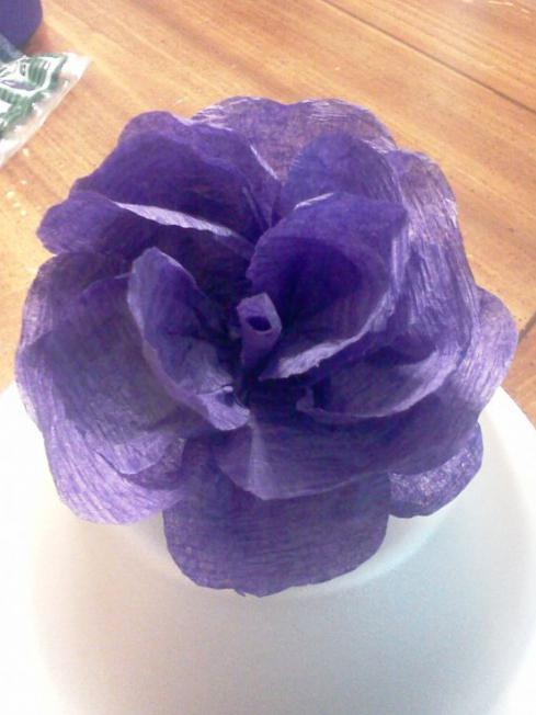 master di fiori in tessuto