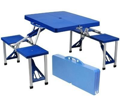 tavolo da picnic pieghevole con le tue mani