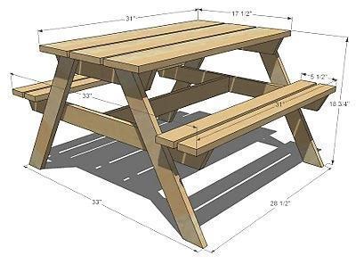 tavolo da picnic pieghevole con sedie