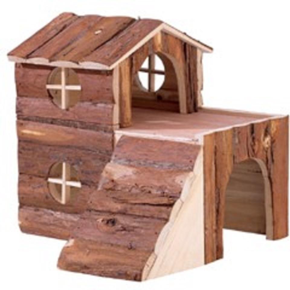 Lesena hiša za hrčke