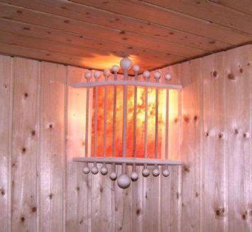 светлина за ъглова баня