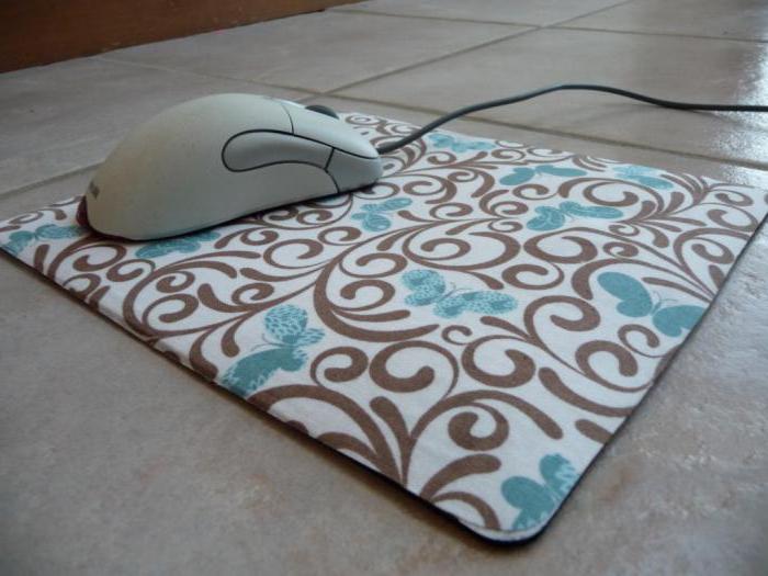 mouse pad fai da te