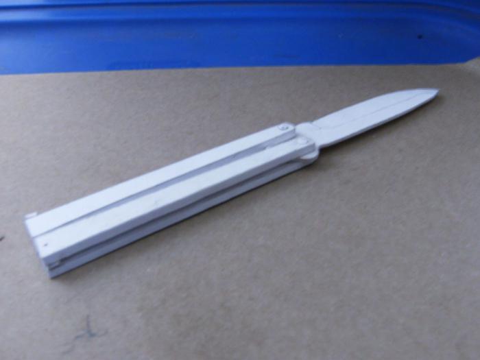 coltelli di carta origami