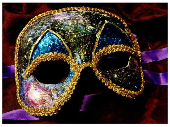 kako napraviti masku papier mache