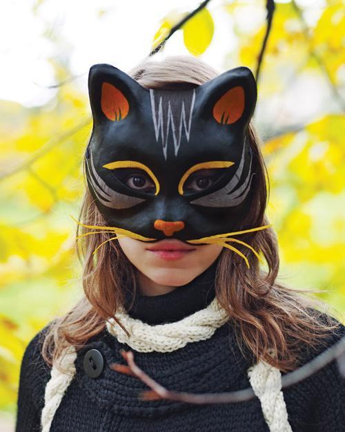 како направити карневалску маску сами